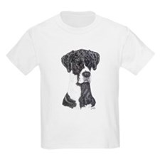 FrtN Mantle Great Dane in dot Kids T-Shirt