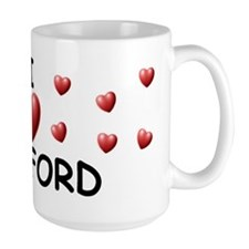 I Love Clifford - Mug