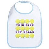 This Kids Got Balls Tennis Bib