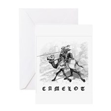Cute Camelot Greeting Card