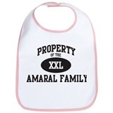 Property of Amaral Family Bib