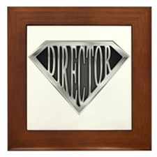 SuperDirector(metal) Framed Tile
