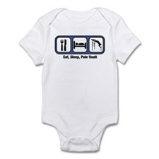 Eat, Sleep, Pole Vault Infant Bodysuit