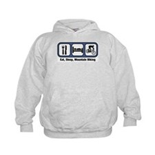 Eat, Sleep, Mountain Biking Hoodie