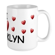 I Love Brooklyn - Coffee Mug