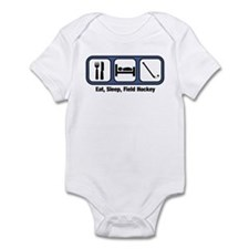 Eat, Sleep, Field Hockey Infant Bodysuit