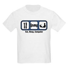 Eat, Sleep, Computer Geek T-Shirt