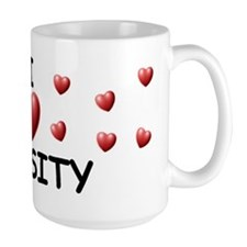 I Love Chasity - Mug