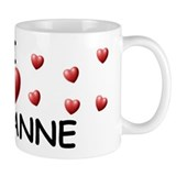 I Love Cheyanne - Mug