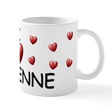 I Love Cheyenne - Mug