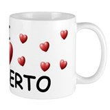 I Love Heriberto - Small Mug
