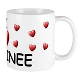 I Love Destinee - Small Mug