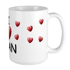 I Love Ivan - Ceramic Mugs
