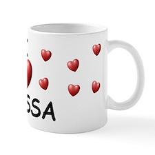 I Love Elyssa - Small Mug