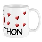 I Love Johnathon - Mug