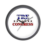 TRE for congress Wall Clock