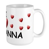 I Love Giovanna - Mug
