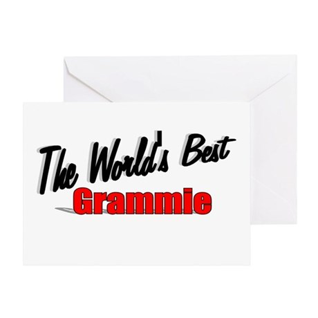 """The World's Best Grammie"" Greeting Card"