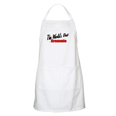 """The World's Best Grammie"" BBQ Apron"
