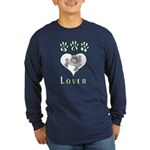 Cat Lovers Long Sleeve Dark T-Shirt