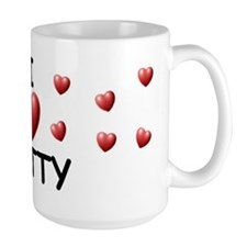 I Love Hatty - Mug