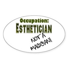 Occupation Esti Oval Decal