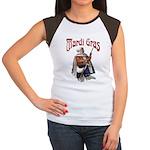 MArdi Gras Desert Runner Women's Cap Sleeve T-Shir