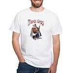 MArdi Gras Desert Runner White T-Shirt