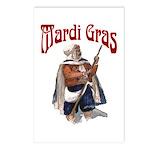 MArdi Gras Desert Runner Postcards (Package of 8)