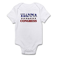 TIANNA for congress Onesie