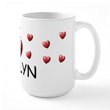 I Love Jaelyn - Mug