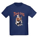 MArdi Gras Desert Runner Kids Dark T-Shirt