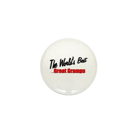 """The World's Best Great Gramps"" Mini Button"