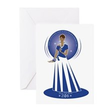 Zeta Phi Beta Greeting Cards (Pk of 10)