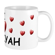 I Love Janiyah - Mug