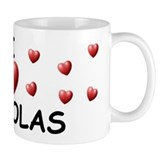 I Love Nickolas - Mug
