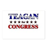 TEAGAN for congress Postcards (Package of 8)