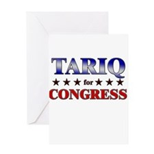 TARIQ for congress Greeting Card
