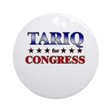 TARIQ for congress Ornament (Round)