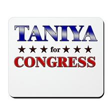 TANIYA for congress Mousepad