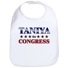 TANIYA for congress Bib