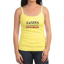 TANIYA for congress Jr.Spaghetti Strap