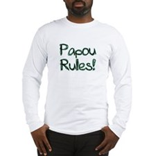 Papou Rules! Long Sleeve T-Shirt
