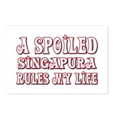 Spoiled Singapura Postcards (Package of 8)