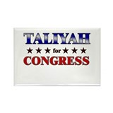 TALIYAH for congress Rectangle Magnet (10 pack)