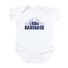 I ride Bareback Infant Bodysuit