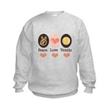 Peace Love Tennis Sweatshirt