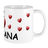 I Love Lilliana - Mug