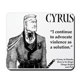 Cute Cyrus Mousepad