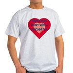 Share My Heart Ash Grey T-Shirt